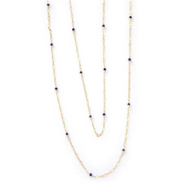 paloma sapphire necklace