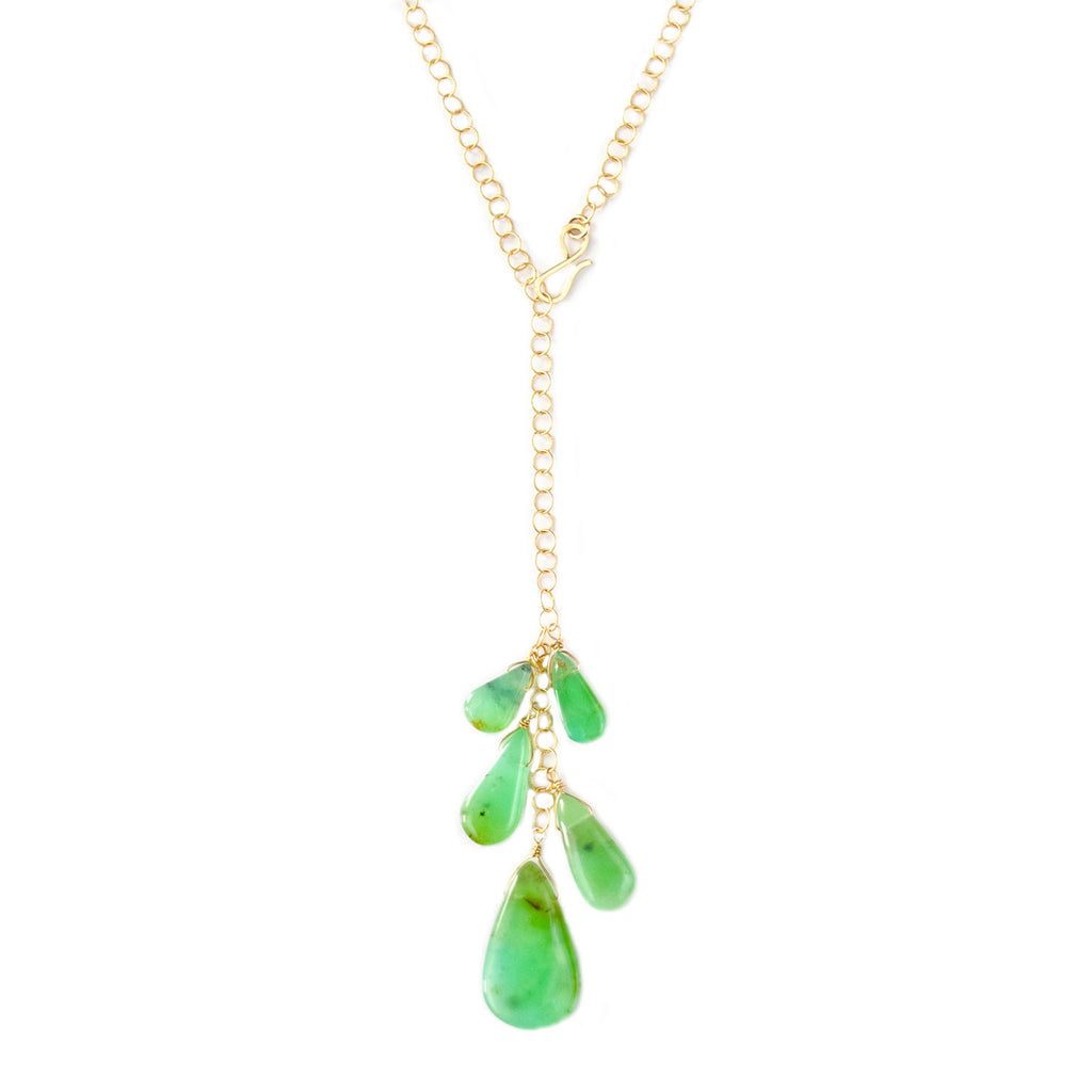 pippa chrysoprase necklace