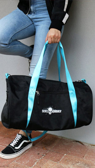 Sporty Blue/Black Nylon Bag (Medium)