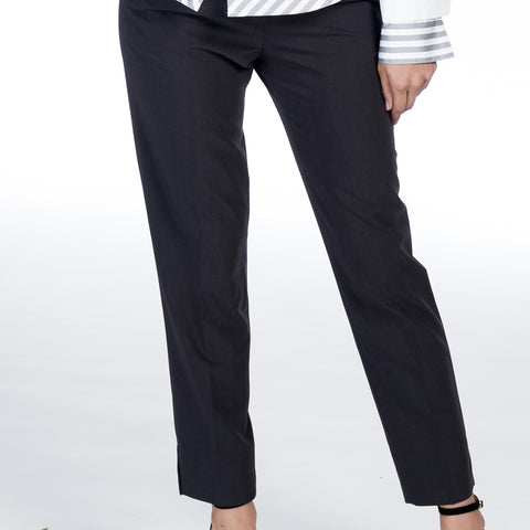 Slim Cropped Pants - Farinaz Taghavi