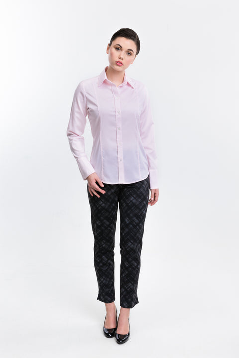 Classic - Pink Button-Up - Farinaz Taghavi
