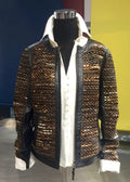 Leather Jacket - Farinaz Taghavi