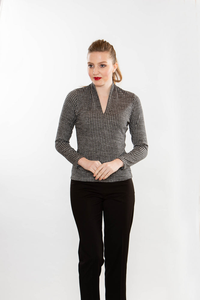 Sensual - Houndstooth Print