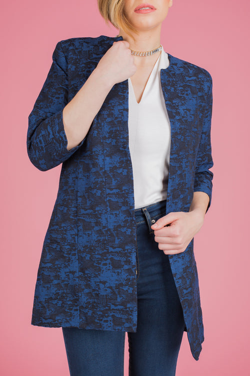Blue/Black Blazer