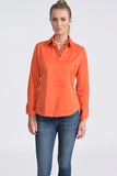 Attitude Shirt - Orange - Farinaz Taghavi