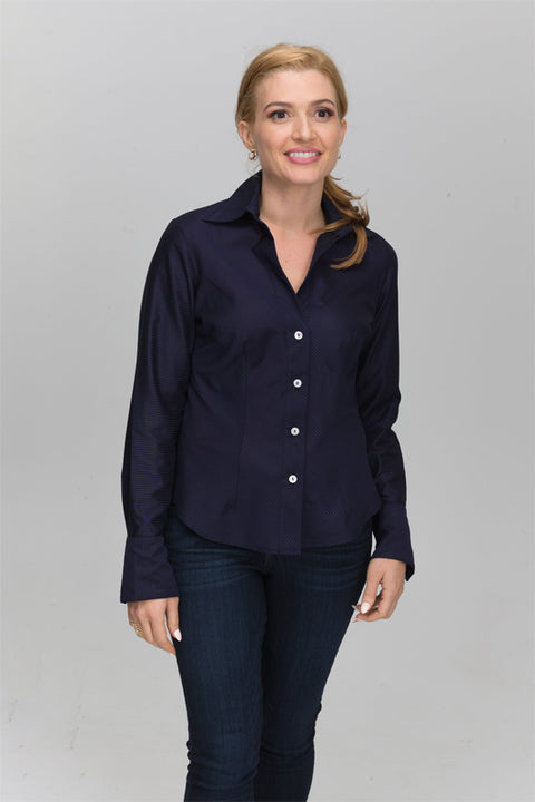 Essence - Navy Stripe with Black