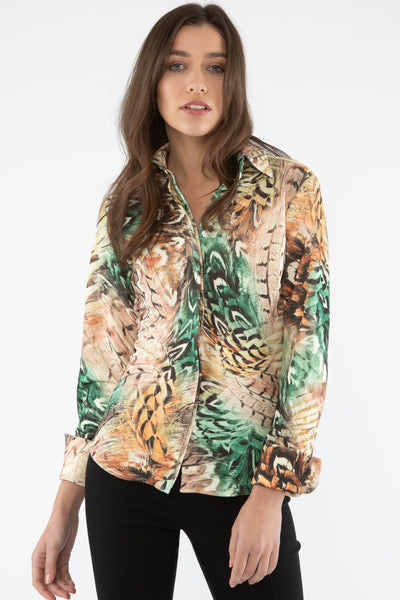 Attitude Shirt - Feather Green