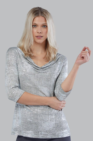Fab Metallic Knit