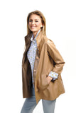 Reversible Lamb Leather Jacket - Farinaz Taghavi