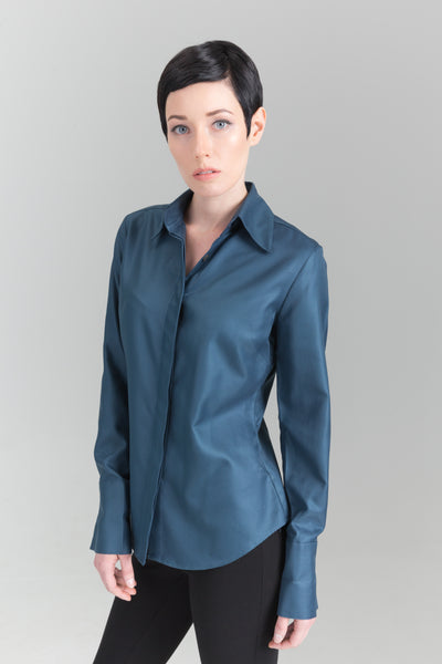 Attitude Shirt - Deep Teal