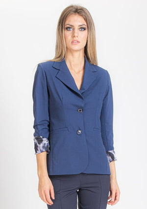 Royal Blue Blazer with Shirt Lining