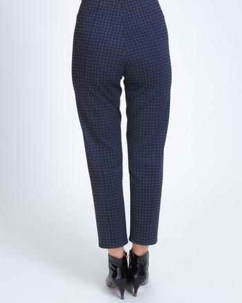 Signature Pant Legging - Deep Navy with Pattern
