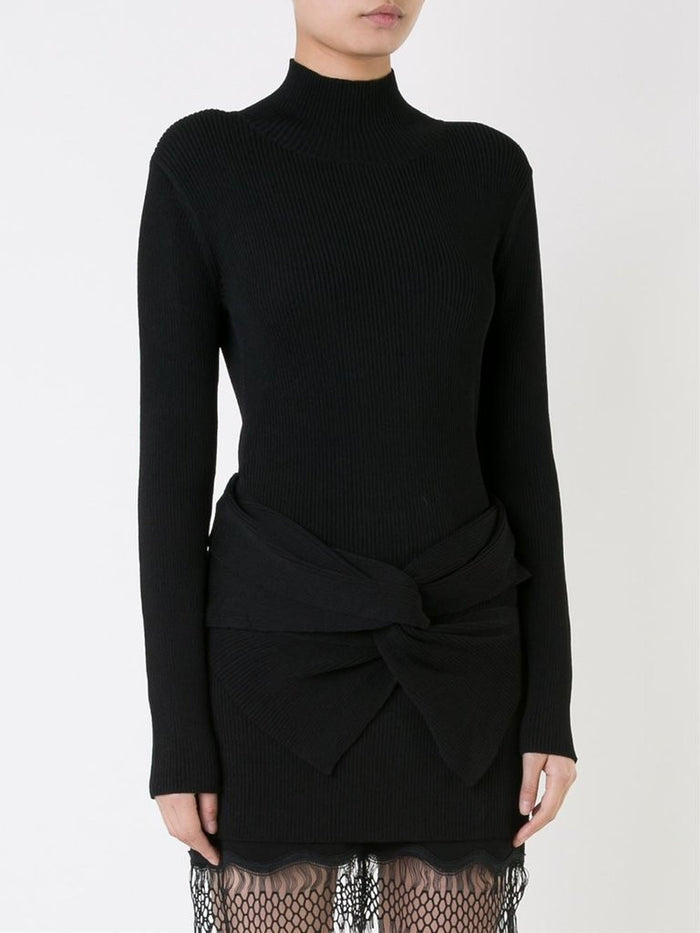 INTERLOCK KNIT TURTLENECK