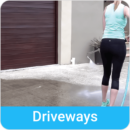 driveways clean