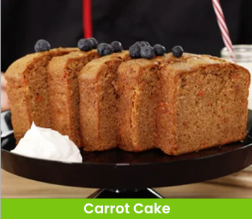 whip chop carrot cake