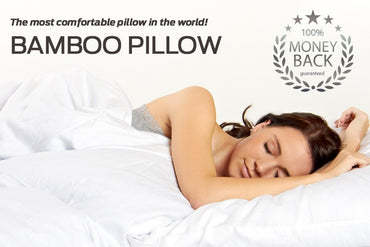Bamboo Pillow 8 in 1 Pillow Twin Pack As seen on TV - Kleva Range - As Seen On TV Products Australia