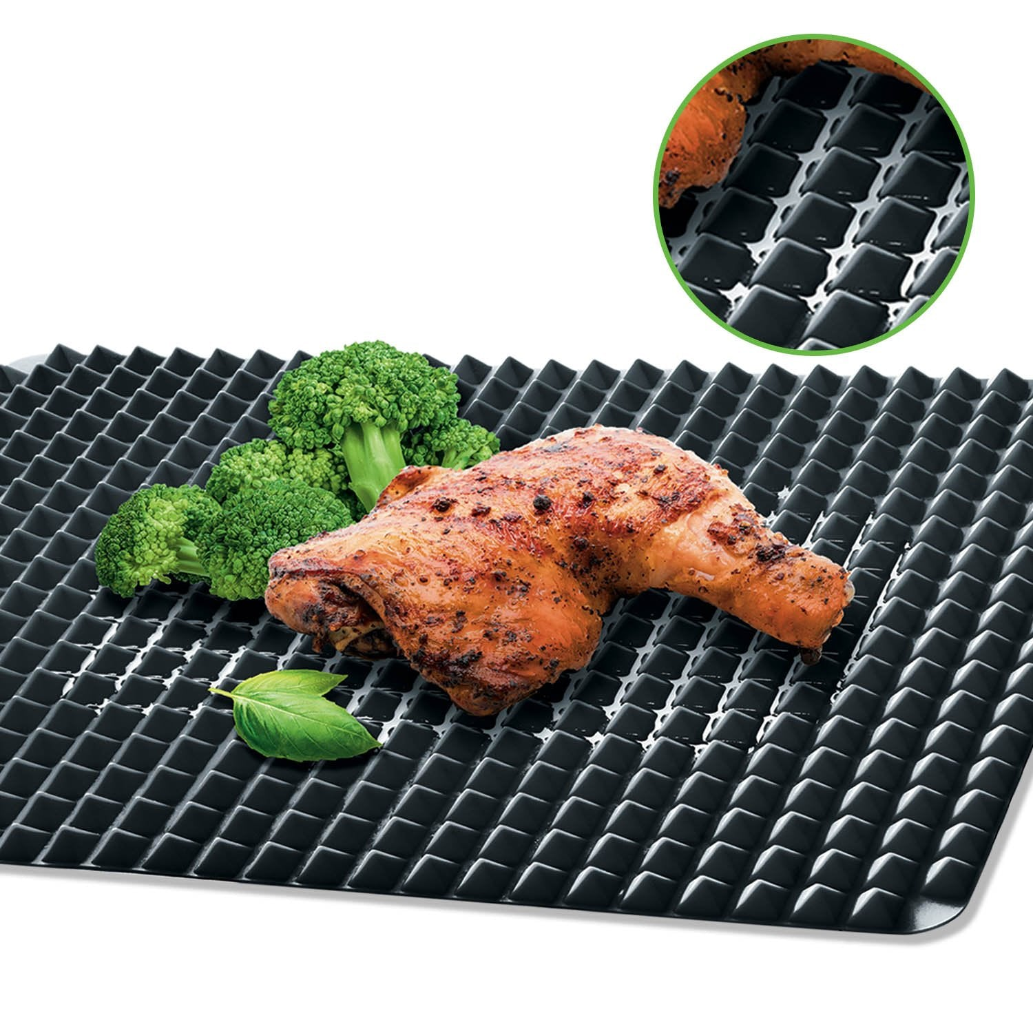 Kleva Dry Fry Mat TV SPECIAL - Turn Your Oven Into An Air Fryer For Healthier Oil FREE Cooking!
