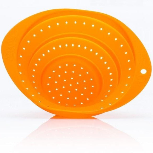 Collapsible Colander Strain, Wash or Drain! TAKES UP NO MORE SPACE THAN A PLATE! - Kleva Range - As Seen On TV Products Australia