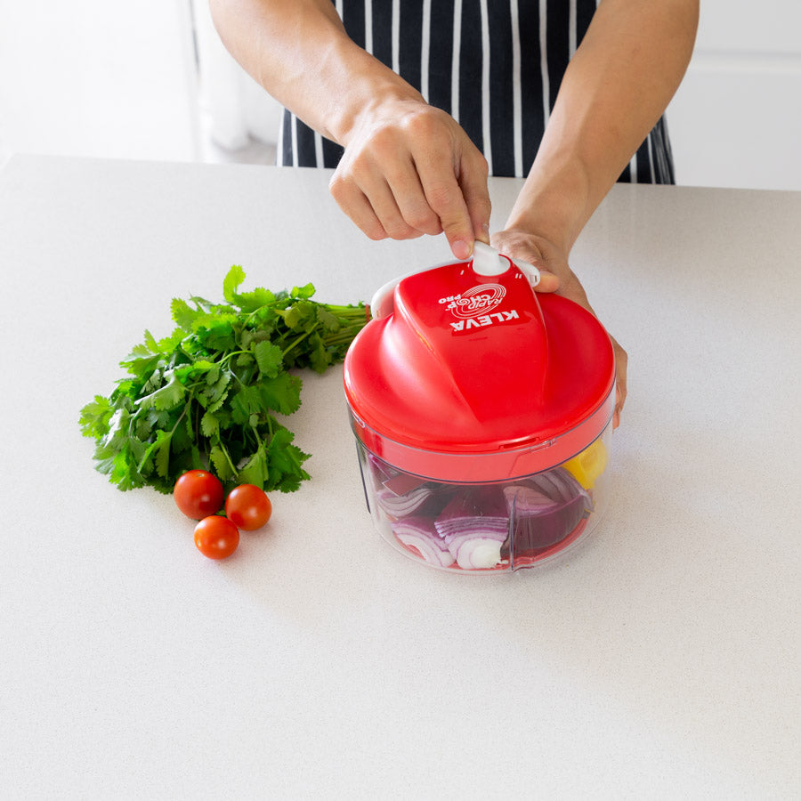 Rapid Chop PRO Dual Speed, Food Chopper & Dicer - Double Offer + FREE Gifts!