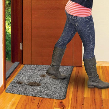 Step-On-Clean Door Mat!