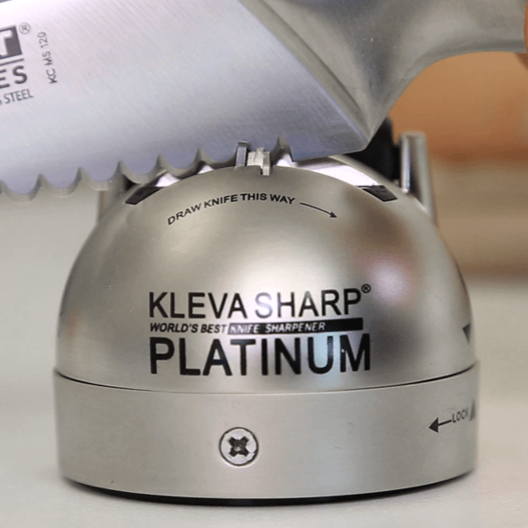 Kleva Sharp Platinum The Worlds Best 2 in 1 Knife Sharpener! - Kleva Range - As Seen On TV Products Australia