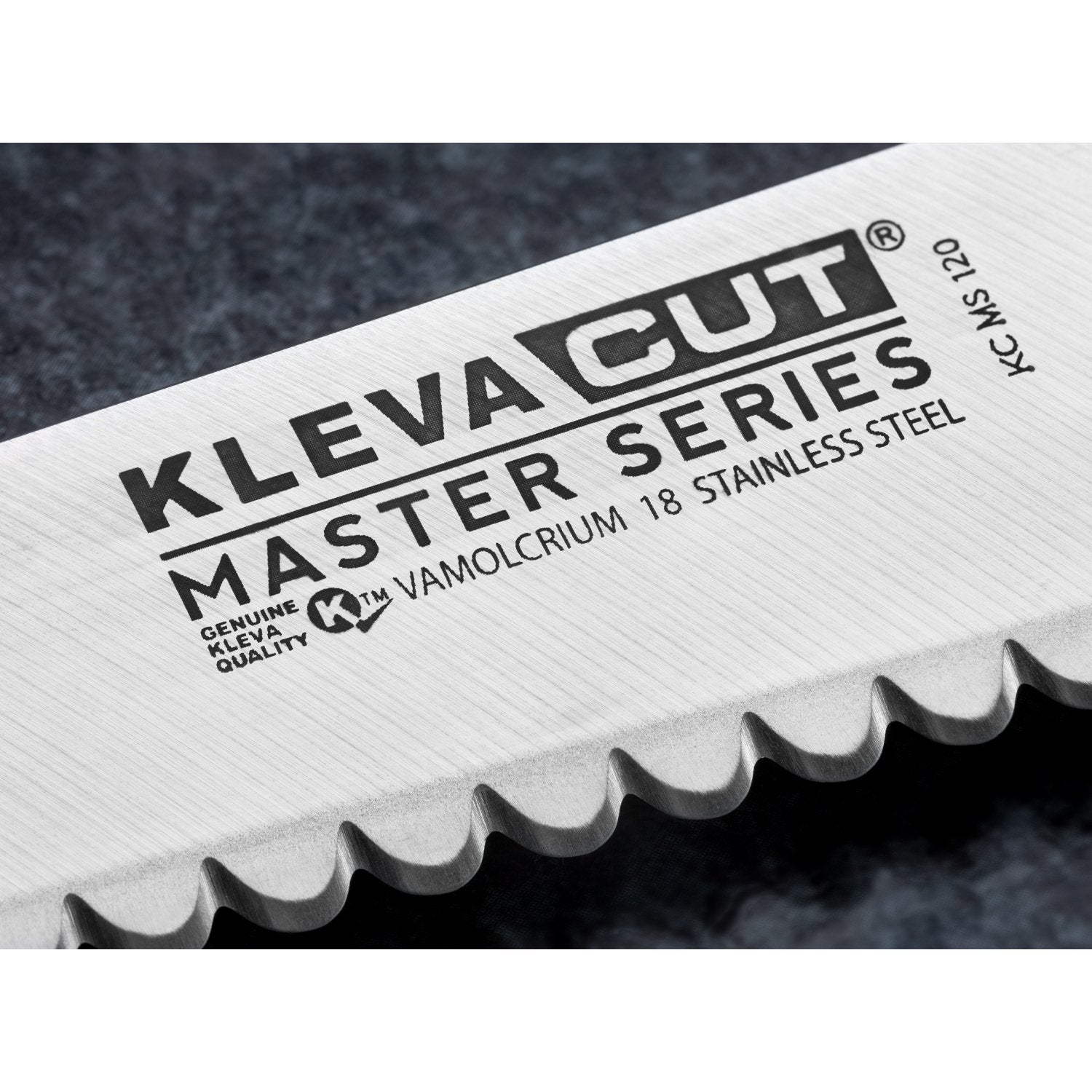 TV Special Kleva Cut Master Series 6 Piece Knife Set Plus FREE Sharpener + 10 Year Guarantee - Choose Your Bonus Gifts!
