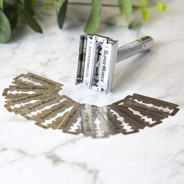 Modern Version of the Classic Safety Razor GET 1 FREE + FREE BLADES