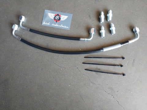 Copy of S-Chassis Rack & Pinion High Pressure Line Kit (RHD)