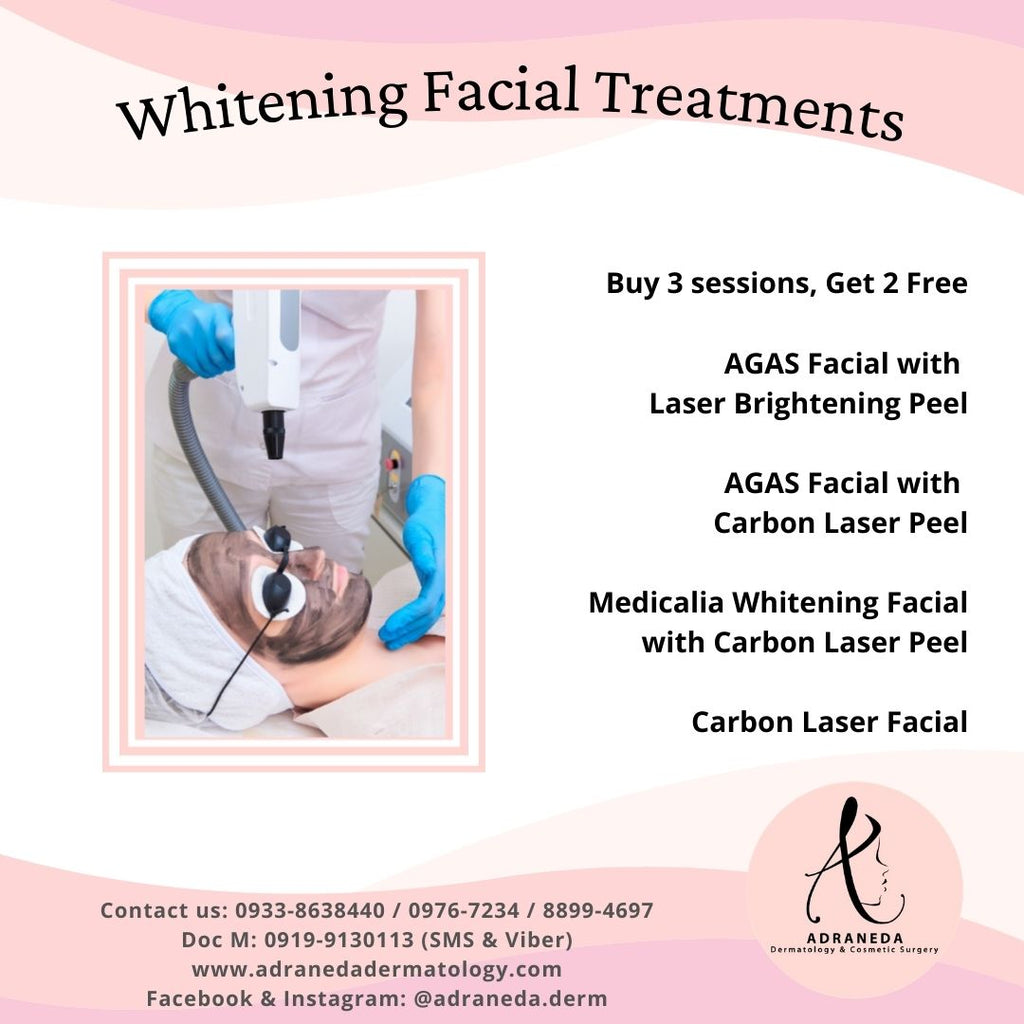 Whitening Facial Treatments