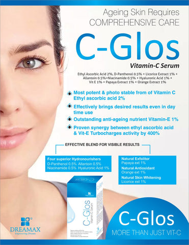 cglos vitamin c with hyaluronic acid serum