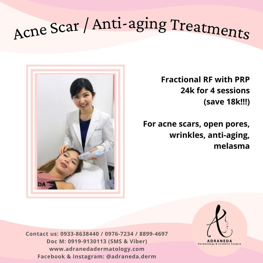 Acne Scar / Open Pores / Anti-aging / Wrinkles Treatment