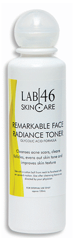 Lab46 Remarkable Face Radiance Toner Glycolic Acid Formula