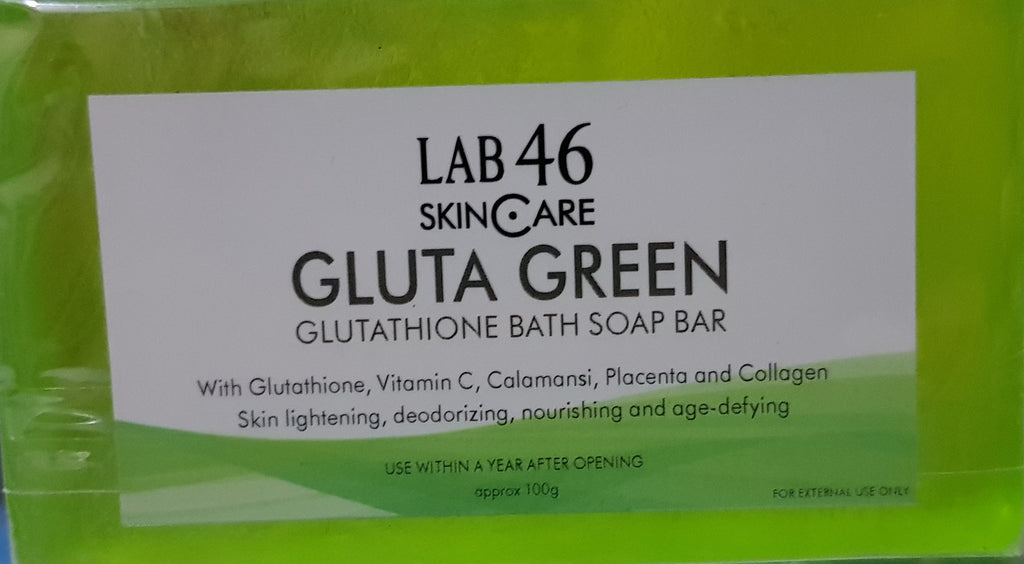 Gluta Green Glutathione Bath Soap Bar
