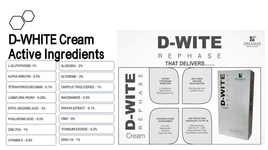 D Wite Whitening Cream