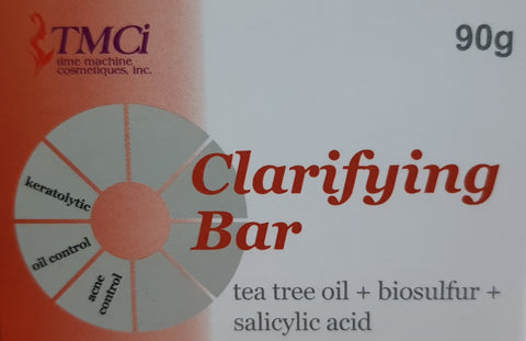Acne Clarifying Bar (Tea tree oil + Biosulfur + Salicylic Acid)