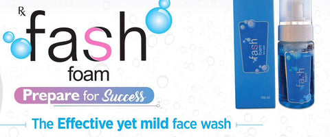 Fash foam acne cleanser