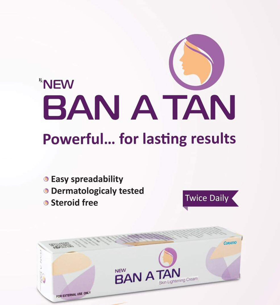 Ban-a-tan whitening cream