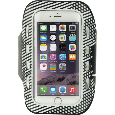 APPLE IPHONE 6/6S LED SPORT ARMBAND+KEY HOLDER ADJUSTABLE 3