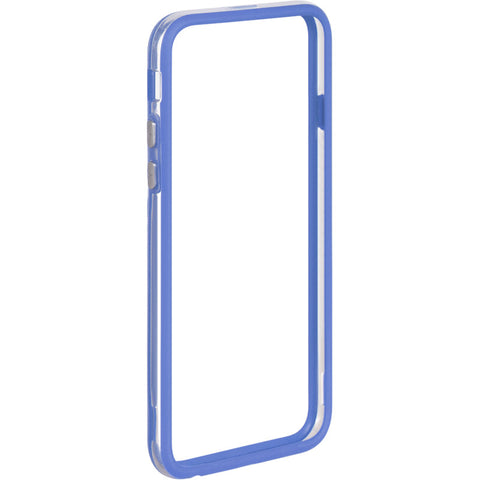 "APPLE IPHONE6/6S (4.7"") HARD BUMPER CANDY CASE BLUE TRIM"