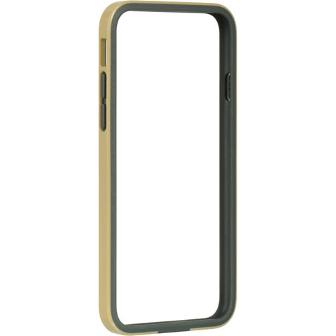 "APPLE IPHONE 6/6S (4.7"") BUMPER CASE TPU ENBED CHAMPAGNE GOLD PC"
