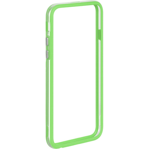 "APPLE IPHONE6/6S (4.7"") HARD BUMPER CANDY CASE GREEN TRIM"