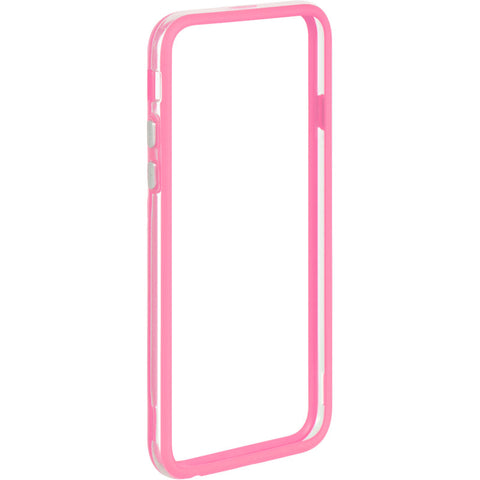 "APPLE IPHONE6/6S (4.7"") HARD BUMPER CANDY CASE HOT PINK TRIM"