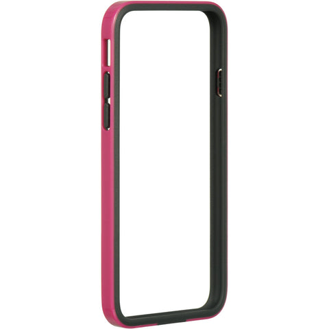 "APPLE IPHONE 6/6S (4.7"") BUMPER CASE TPU ENBED HOT PINK PC"