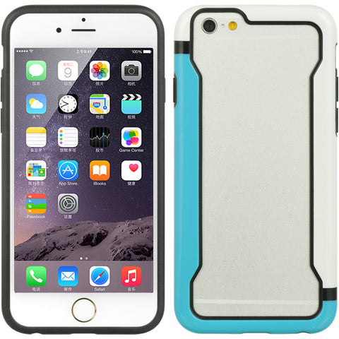 "APPLE IPHONE 6/6S (4.7"") BUMPER CASE I STYLE TPU EMBED DUAL"