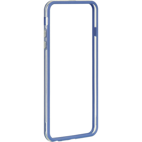 APPLE IPHONE 6 PLUS/6S PLUS HARD BUMPER CANDY CASE BLUE TRIM