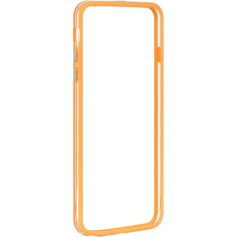 APPLE IPHONE 6 PLUS/6S PLUS HARD BUMPER CANDY CASE ORANGE TR