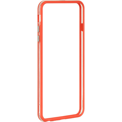 APPLE IPHONE 6 PLUS/6S PLUS HARD BUMPER CANDY CASE RED TRIM