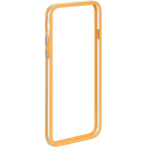 APPLE IPHONE 6/6S HARD BUMPER CANDY CASE ORANGE TRIM