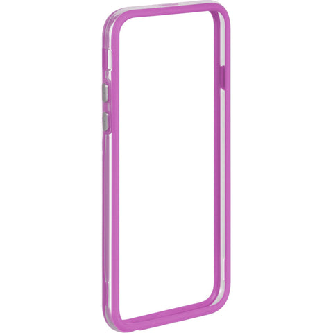 APPLE IPHONE 6/6S HARD BUMPER CANDY CASE PURPLE TRIM