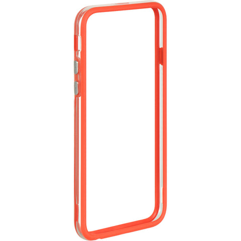 APPLE IPHONE 6/6S HARD BUMPER CANDY CASE RED TRIM